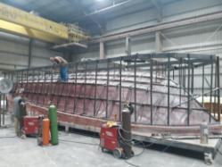 Bertram Yachts 39 Center Console Hull Framed