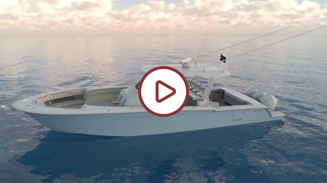 Bertram Yachts 39 Center Console Video Linkout
